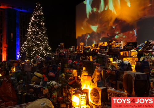 Toys for Joys is at the Revere Hotel - Space 57 on Friday, Dec. 9