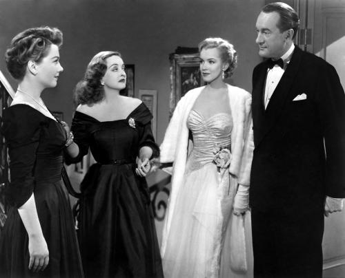 Bette Davis, Marilyn Monroe, Anne Baxter, movies, classic hollywood