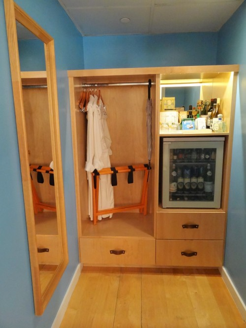 The Standard Miami closet