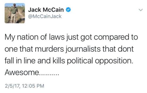 Trump, Tweet