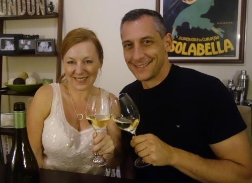 wine, friend