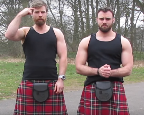 kilted coaches, scots, fitness, glutes, exercise, kilt