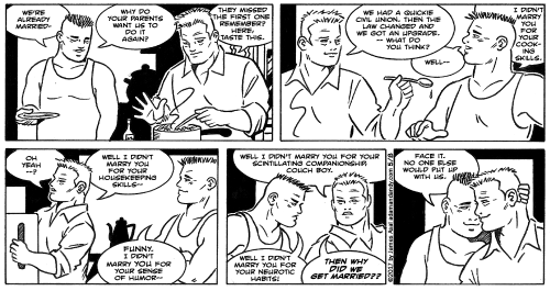 James Asal Jr., gay comic strip, gay cartoon