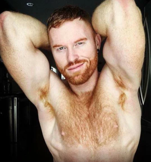 Seth Fornea, hairy, hunk, ginger