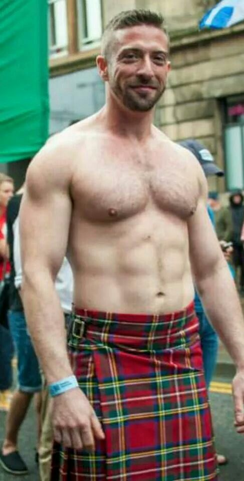men in kilts, muscles, hunk, handsome