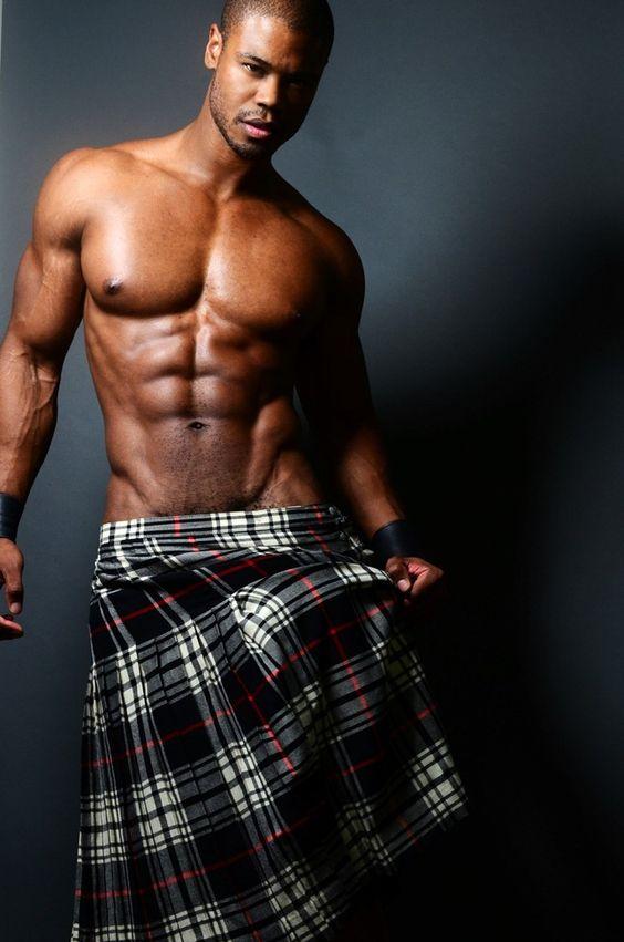 muscle men in kilts