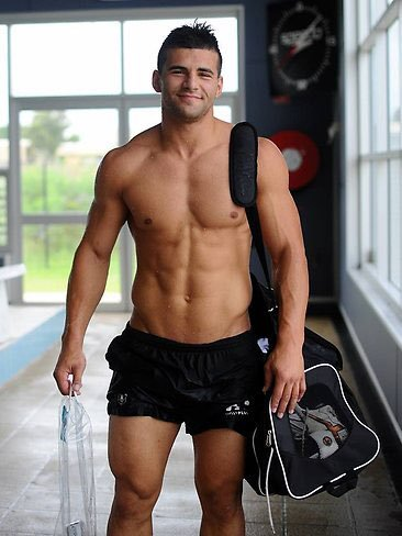 Josh Mansour, handsome, hunk, jock, rugby player