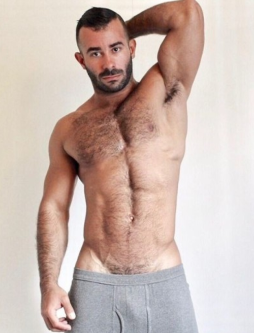 handsome, hairy, hunk, hairy chest, pits, arm pits
