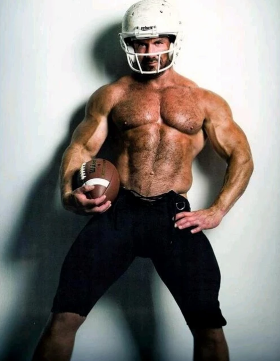Gay football gear