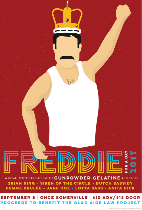 Freddie Mercury, ONCE Somerville