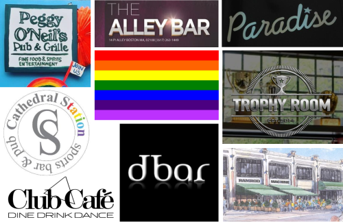 LGBTQ boston bars, gay nightlife boston