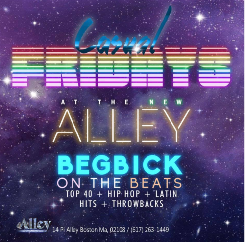gay boston, pi alley, DJ begbick