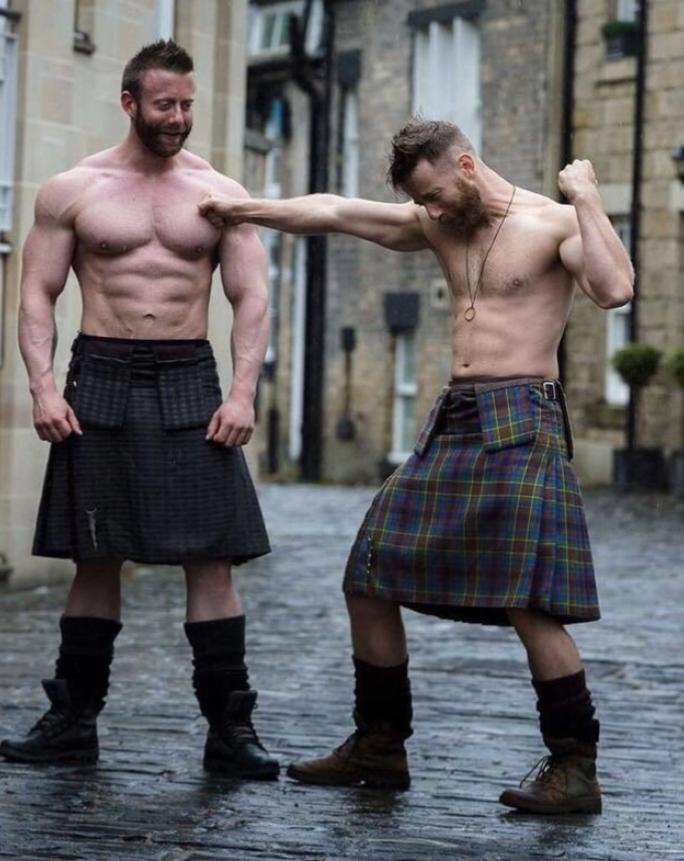 hairy uncut gay men