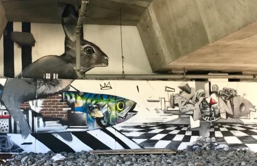 street art, graffiti art, south end
