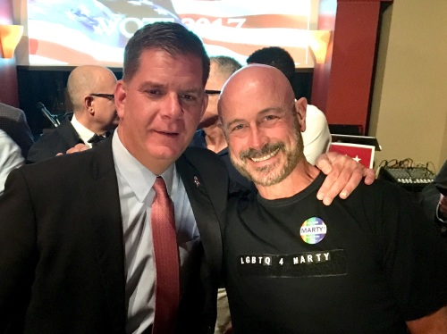 Marty Walsh and Sergio