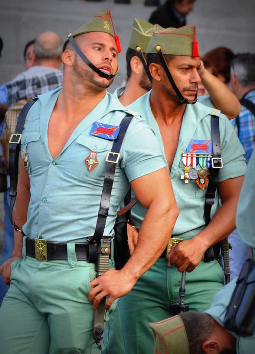 men in uniforms