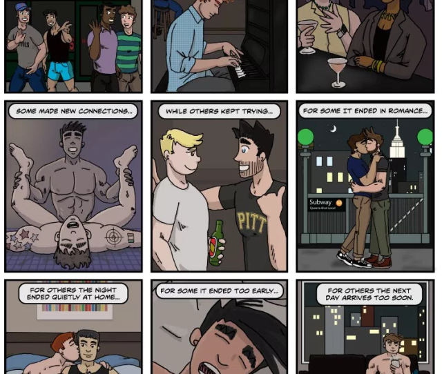 Click On This Weeks Comic To Enlarge Gay Comic