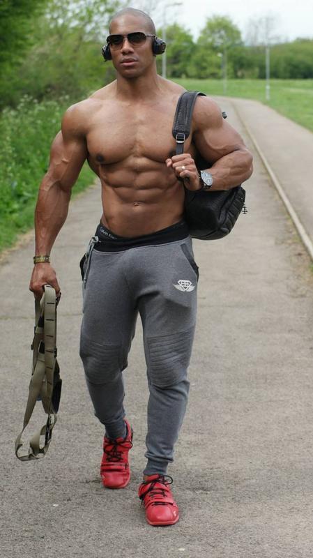 muscles, sexy black man, hunk