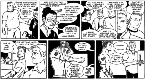 James Asal Jr., gay cartoon