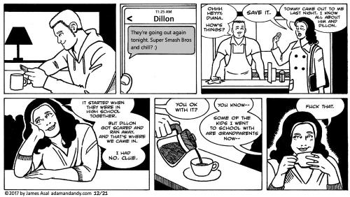 gay comic, james asal jr