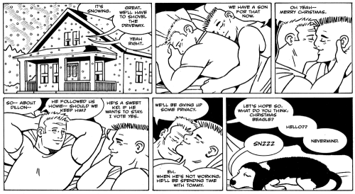 James Asal Jr., gay comic strip