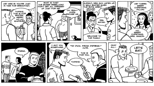 James Asal Jr, gay cartoon