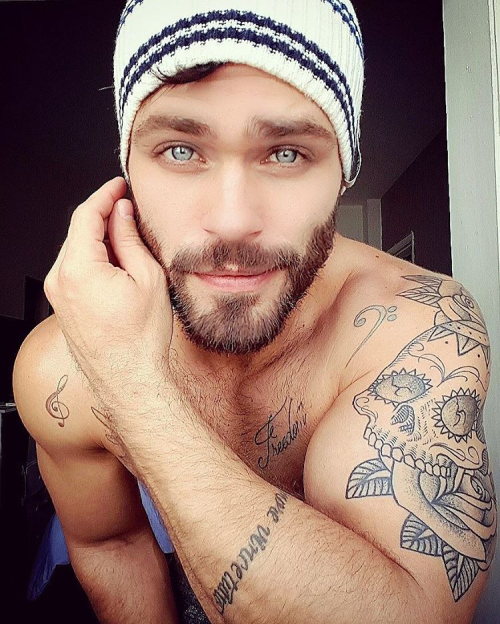 Thiago Zanini, handsome, hunk, beautiful eyes
