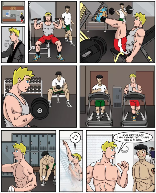 Bob Glass, Bob Glasscock, gay cartoon, gay comic