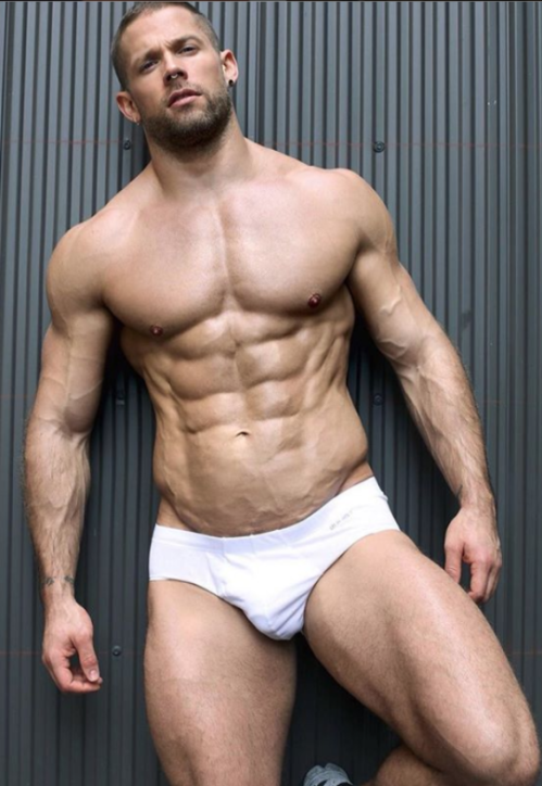 white, speedo, handsome, hunk, muscles, shirtless guy
