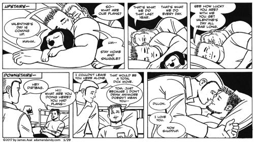 James Asal Jr., gay comic, gay cartoon