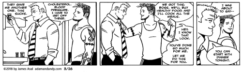 James Asal Jr., gay cartoon, gay comic