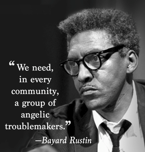 bayard rustin breakfast, gay rights, aids action committee