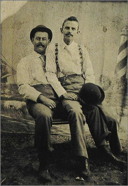 gay history, gay couples from the past