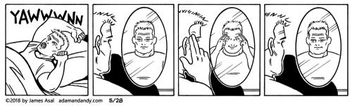 james asal, gay comic, gay cartoon