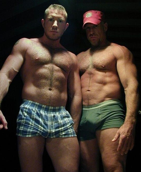gay muscle cub