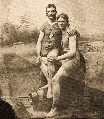gay male couple, 19th century gay men