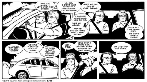 james asal jr, gay cartoon, gay comic