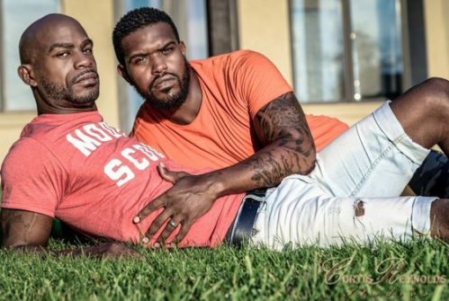 gay men of color, gay african american couple
