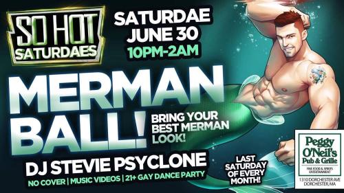 peggy o'neils, gay boston, mermen party
