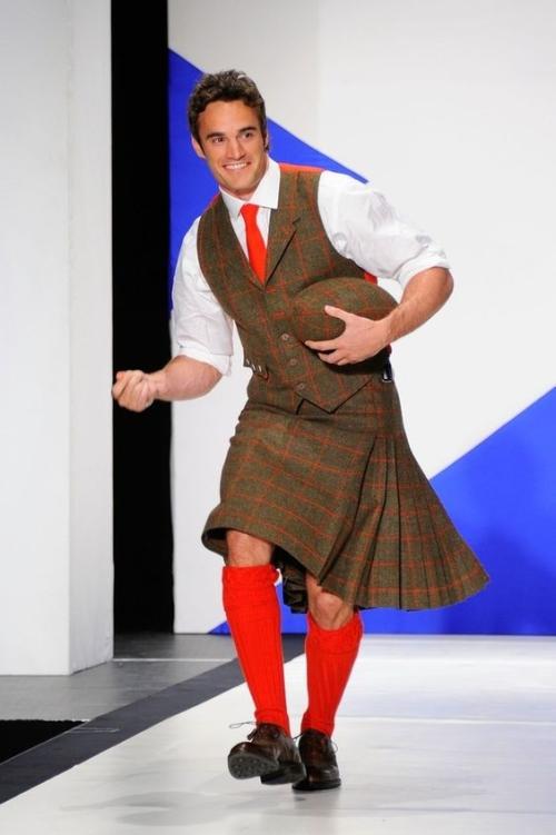 Scottish model, Scottish Rugby player, handsome, hunk