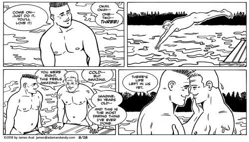 James Asal Jr., gay comic, gay cartoon