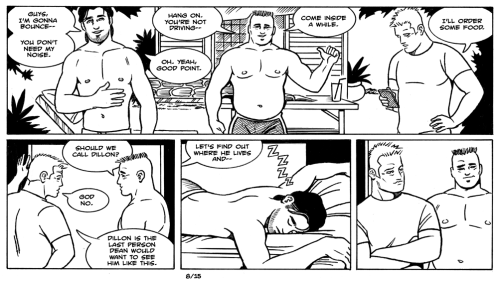 james asal jr, gay comic, gay cartoon