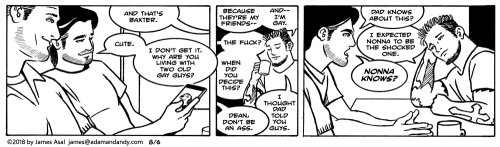 james asal jr, gay cartoon, gay comic strip