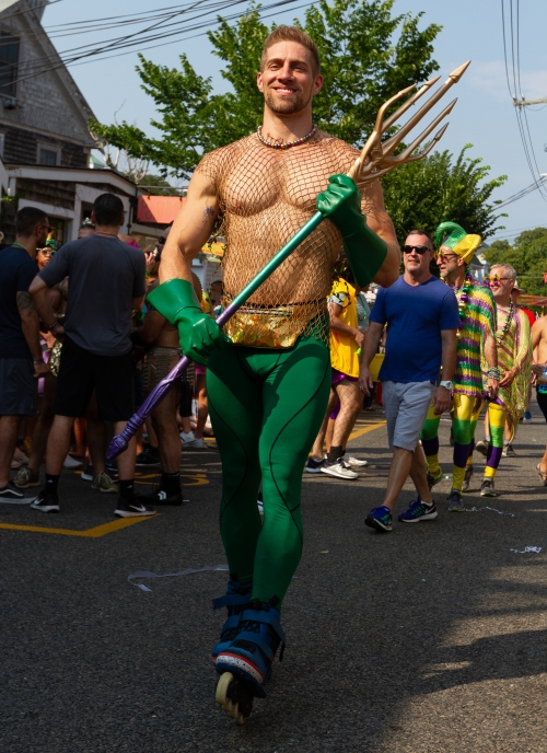 chris marchant, aquaman, ptown carnival