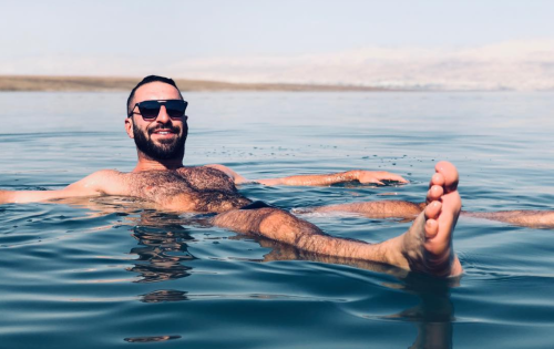 instagram, hairy, hunk, wet fur, scruffy