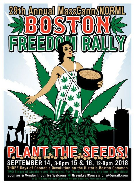 legalize marijuana, boston marijuana festival