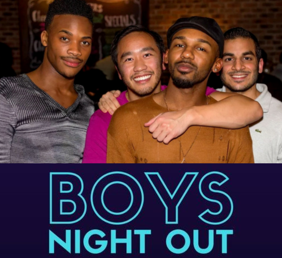 Games night for gay professionals at Blueberry Bar