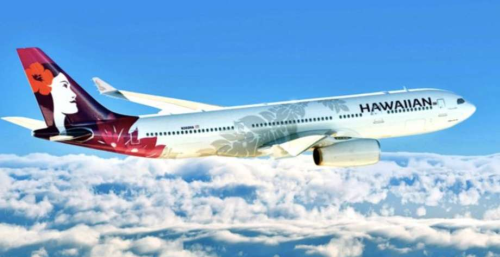 Boston to Honolulu air service, travel, HA90, HA91