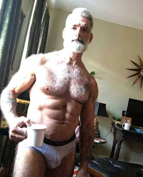 daddy, mature men, hairy, furry, handsome, hunk