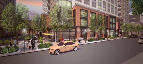 south end residential project, Harrison Albany Block